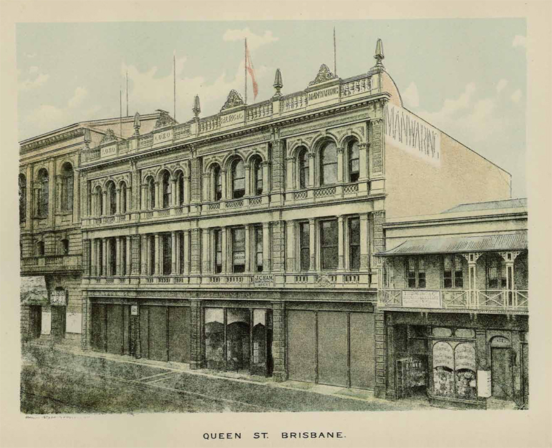 Queen Street building, Brisbane